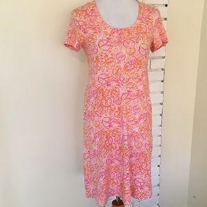 Lilly Pulitzer Kelsea Ten Speed Dress Pink Bike S